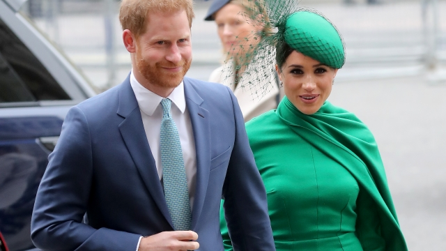 Harry and Meghan attended the annual service at Westminster Abbey to celebrate Commonwealth Day