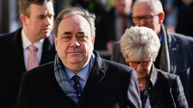 Alex Salmond also told the court that one of the women accusing him of sexual assault had encouraged at least five others to exaggerate their own claims
