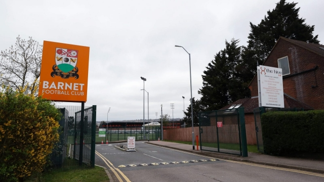National League side Barnet put around 60 staff on notice of redundancy (Getty Images)