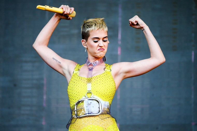 Katy Perry has also joined the movement (Photo: Getty)