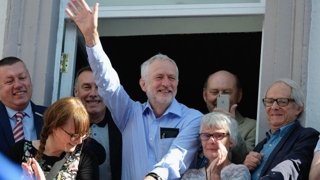 Corbyn and Ken Loach