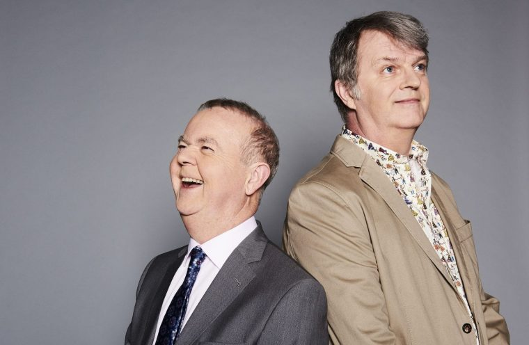 Have I Got News For You captains Ian Hislop and Paul Merton will return via remote cameras
