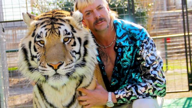 Tiger King Joe Exotic on Netflix