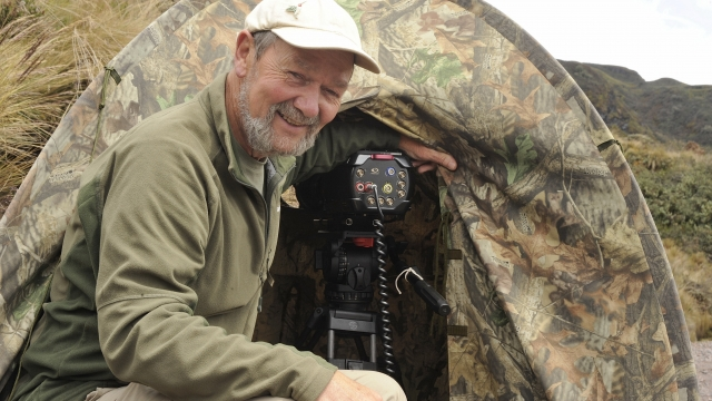 Mike Potts has been a wildlife cameraman for more than 30 years