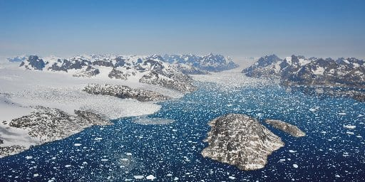 Of the total sea level rise, 1.06cm, or 60 per cent, was due to Greenland ice losses