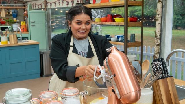 Scarlett Moffatt's bake was called 'inedible' by Prue (Photo: Channel 4)