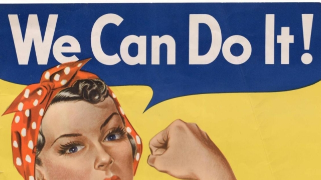 "A wartime ""can do"" spirit, summed up by this US propaganda poster from the Second World War, is what the world needs to hope for during the coronavirus pandemic (Photo: HANDOUT/AFP/Getty Images)"