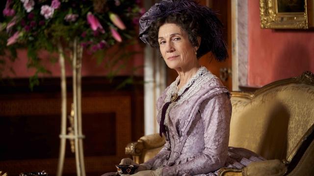 Harriet Walter in new Julian Fellowes' period drama, Belgravia (Photo: ITV)