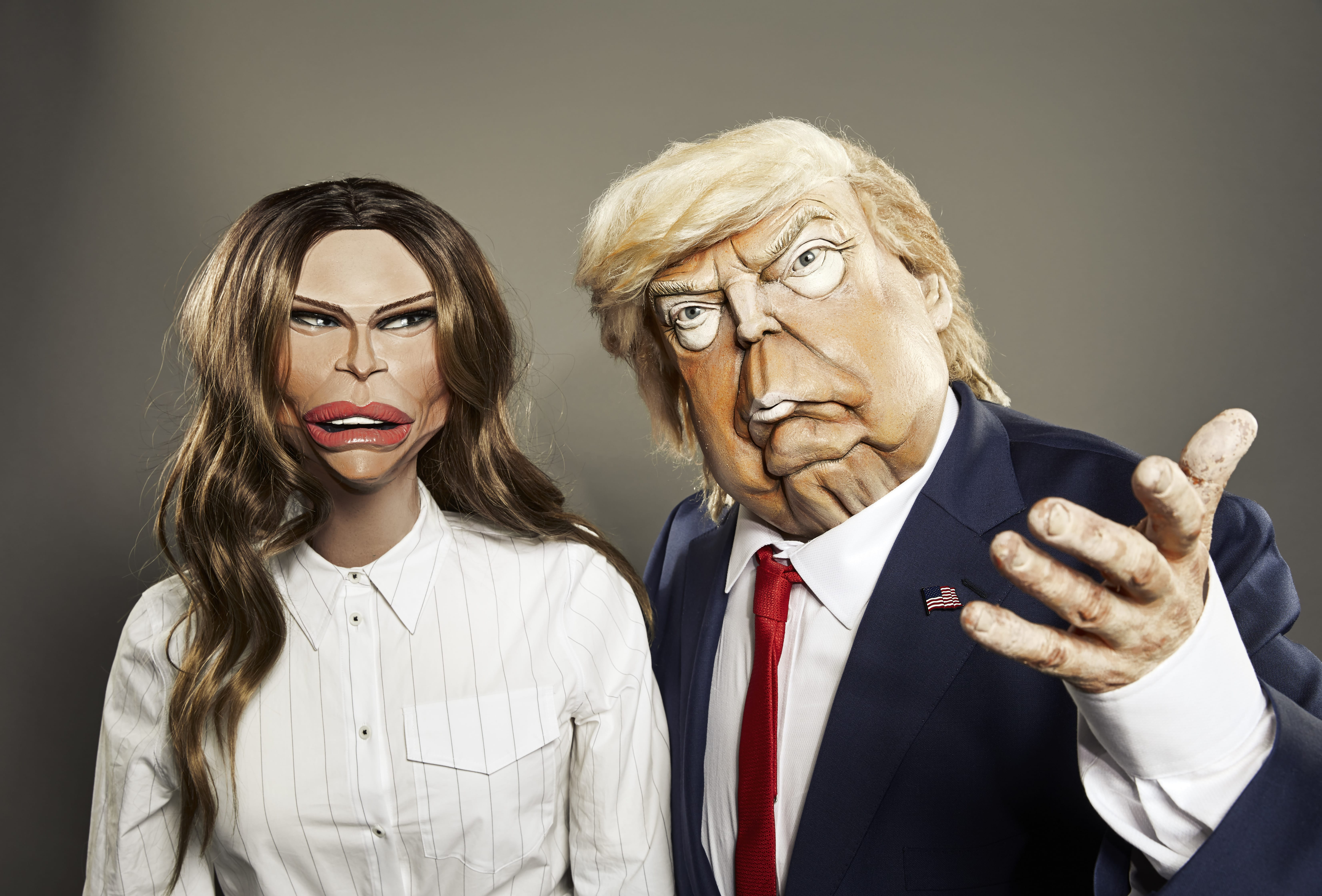 Donald Trump will feature in the new series of Spitting Image