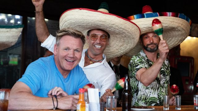 Gordon, Gino and Fred in Mexico