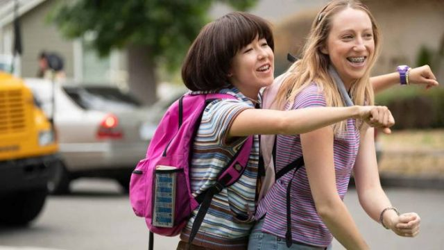 Maya Erskine (left) and Anna Konkle in Pen15 (Photo: Sky Comedy)