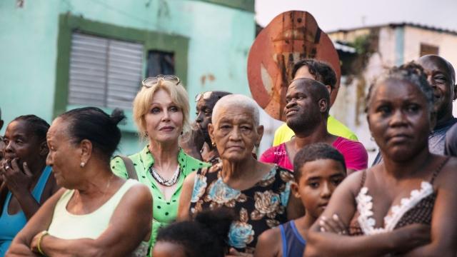 Joanna Lumley is on a Caribbean adventure (Photo: ITV)