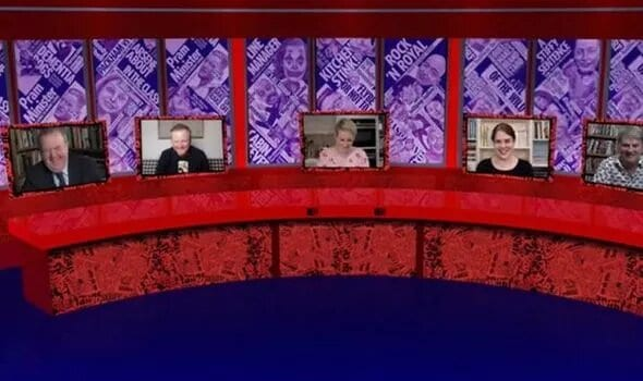 Thank God it's still going, but it's impossible to capture the atmosphere on Have I Got News For You with a socially distant panel (Photo: BBC)
