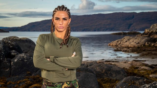 Katie Price opened up in Celebrity SAS: Who Dares Wins