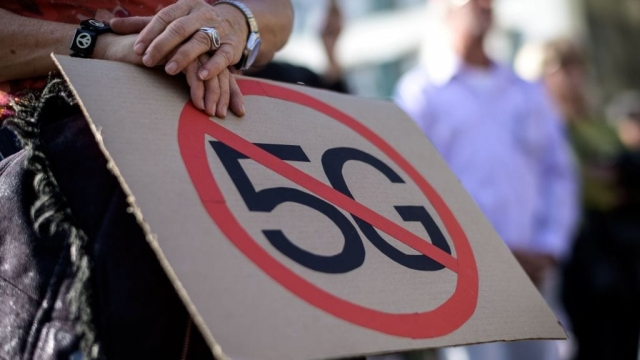 Anti-5G protesters have been spurred by misinformation to attack network installations