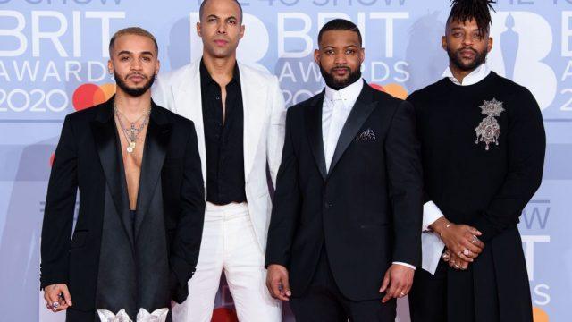 JLS at the Brit Awards