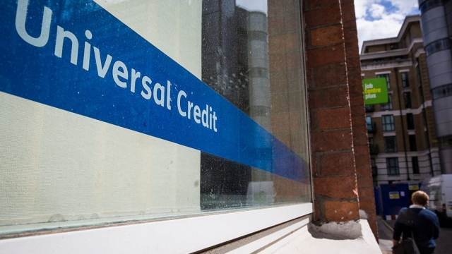 Universal Credit claims have surged amid the Covid-19 outbreak