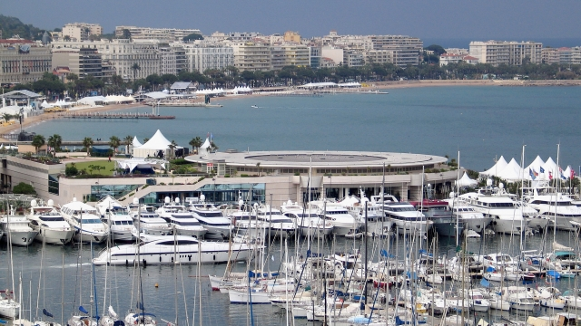 The group were trying to reach a private villa in Cannes