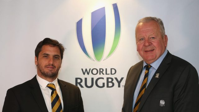 Article thumbnail: The battle for control between Agustin Pichot and Bill Beaumont could shape the sport of Rugby Union for years to come (Getty Images)
