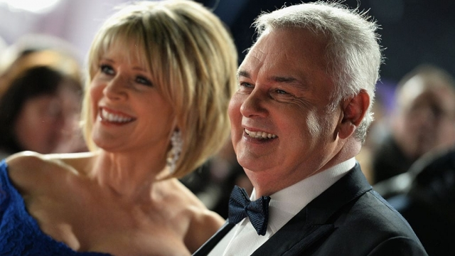 LONDON, ENGLAND - JANUARY 25: Ruth Langsford and Eamonn Holmes attend the National Television Awards on January 25, 2017 in London, United Kingdom. (Photo by Jeff Spicer/Getty Images)