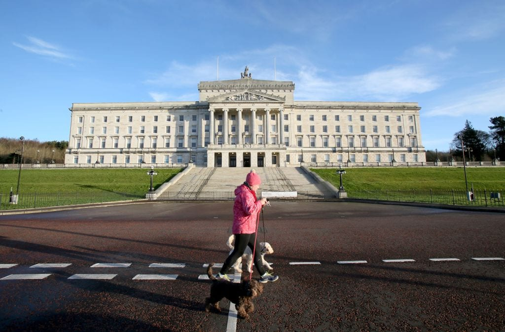 During his visit to Northern Ireland, the Prime Minister will meet the First Minister, Arlene Foster, and the Deputy First Minister, Michelle O'Neill (Photo: Getty)