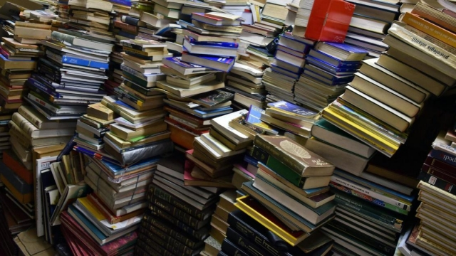 Those books we've long been meaning to start tomorrow? Well, tomorrow has arrived (Photo: GUILLERMO LEGARIA/AFP/Getty Images)