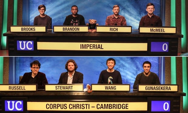 University Challenge ratings are at a 10-year high as Britain tunes in during lockdown