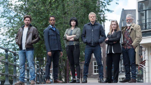 Article thumbnail: Van der Valk's detective team solve murders in Amsterdam (Photo: ITV/Press)