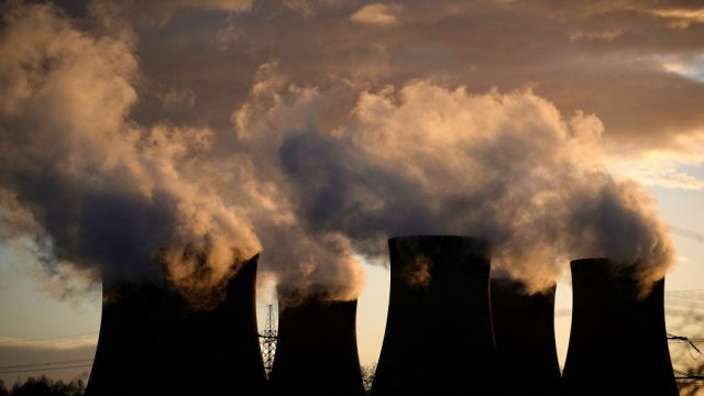 A general view of Drax Power Station in Selby, England. (Photo: Getty)
