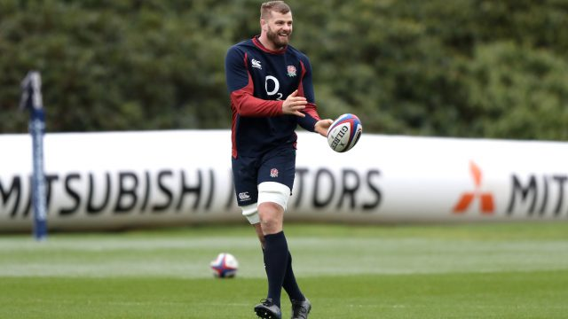 England lock George Kruis is set to move to Japan for rugby next season and has been supported in this endeavour by head coach Eddie Jones (Getty Images)