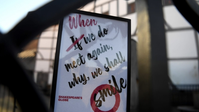 Shakespeare's Globe, we learnt last week, faces the likelihood of permanent closure due to the Covid-19 pandemic