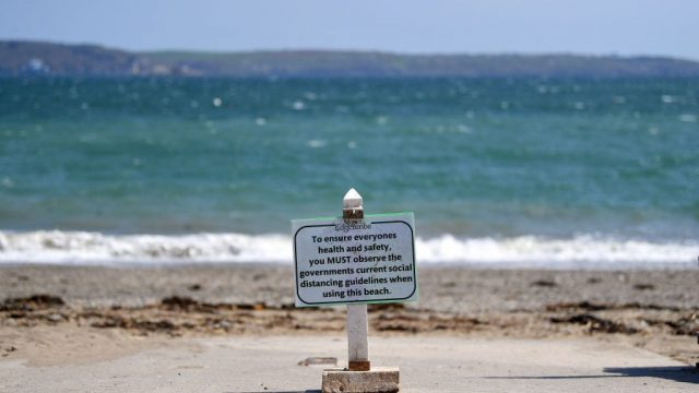Cornwall is likely to enforce social distancing rules for visitors when lockdown restrictions are relaxed (photo: Getty)