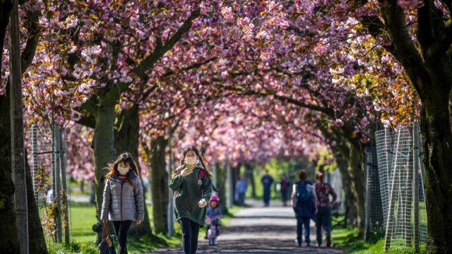 Some lockdown restrictions regarding outdoor activities have been eased in England