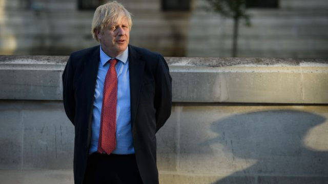Boris Johnson has said this is the most dangerous phase of the fight against Covid-19 (Photo by Leon Neal/Getty Images)
