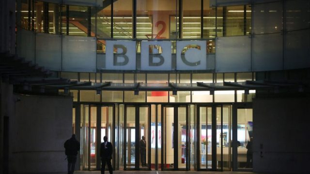 Visitors to the BBC News website have surged by 58 per cent