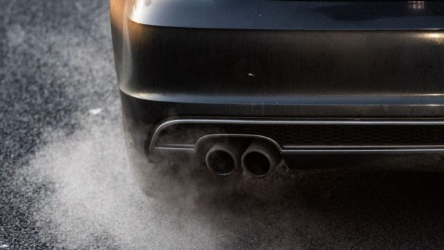Car exhausts are a major source of PM2.5, the pollution linked to MS