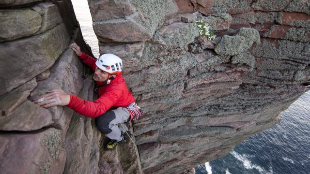 Article thumbnail: Blind climber Jesse Dufton doesn't let his disability stop him tackling the most challenging ascents