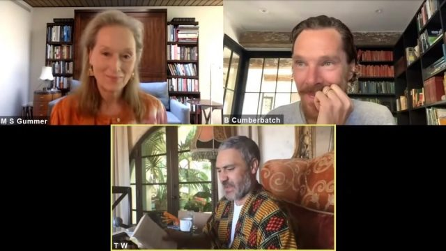 Meryl Streep & Benedict Cumberbatch join Taika Waitit to read James & the Giant Peach