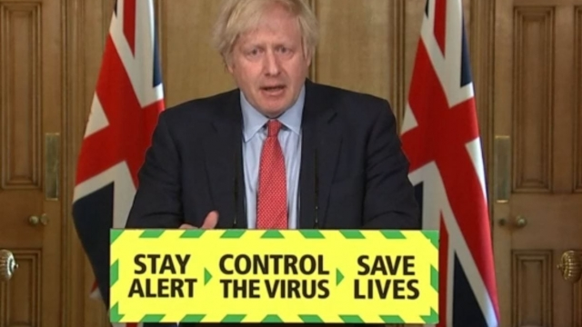 Article thumbnail: Prime Minister Boris Johnson during a media briefing in Downing Street, London
