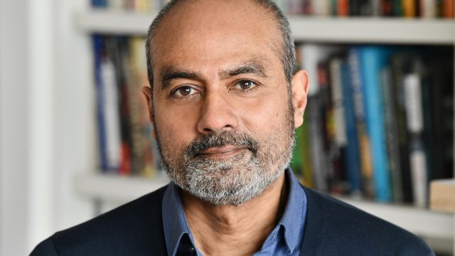 Newsreader George Alagiah is shortlisted for a prestigious literary award