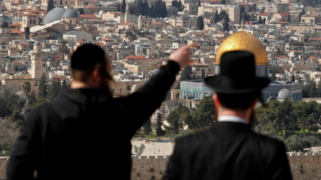 Britain's colonial history has a big legacy over the Israel and Palestine of today (Photo: AHMAD GHARABLI / AFP)