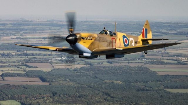 Article thumbnail: People with no training in making aircraft helped make parts for Spitfires (Photo: Crown Copyright)