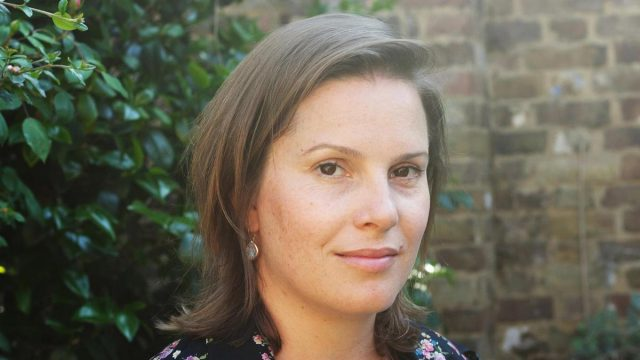 Investigative journalist and novelist Holly Watt