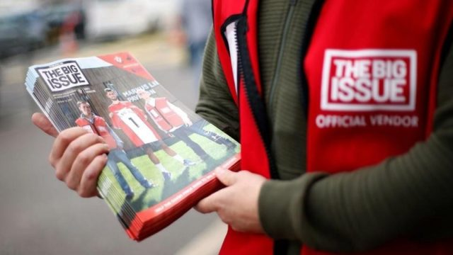 Article thumbnail: The Big Issue is urging people to sign up to its new subscription service (Photo: Paul Harding/PA)