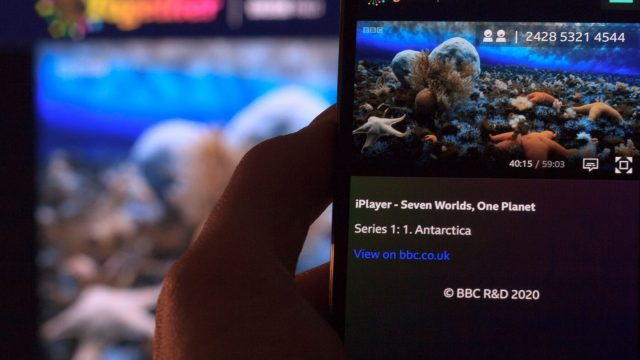 The new experiment lets viewers watch BBC programming together (Photo: BBC)