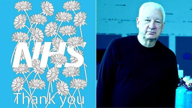 Michael Craig-Martin and his NHS poster