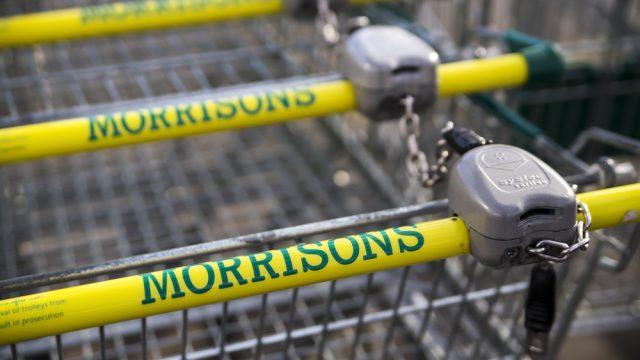 Morrisons trolley